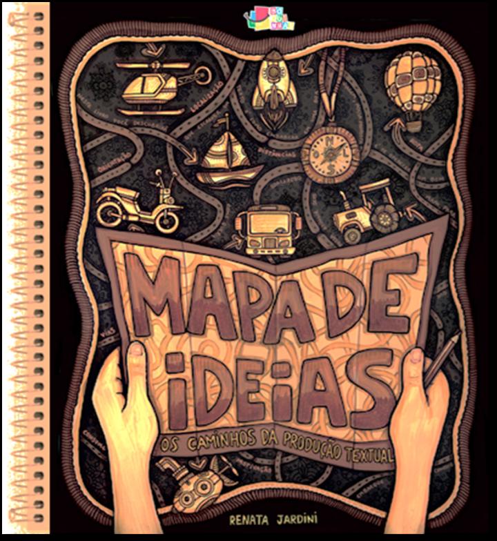NOVÍSSIMO Livro Mapa de Ideias e o Novo Lince de Boquinhas.