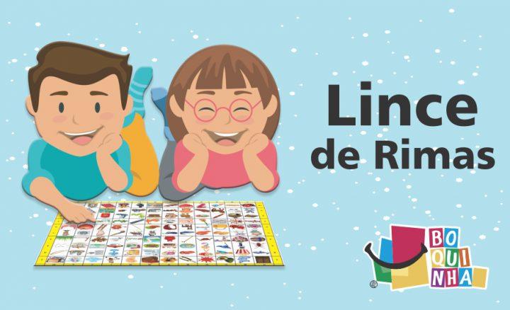 CHEGOU !LINCE DE RIMAS DE BOQUINHAS.