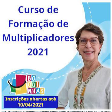 Aberta as Inscrições para o Curso de Formação de Multiplicadores Boquinhas 2021