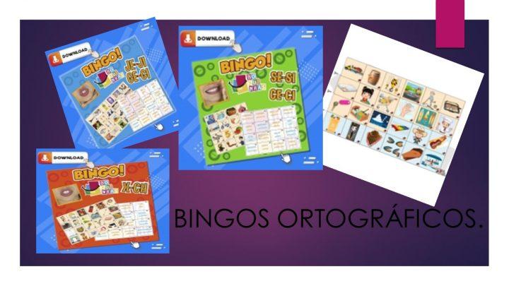 Novidade! Bingos ortográficos para você arrasar na memorização da grafia.
