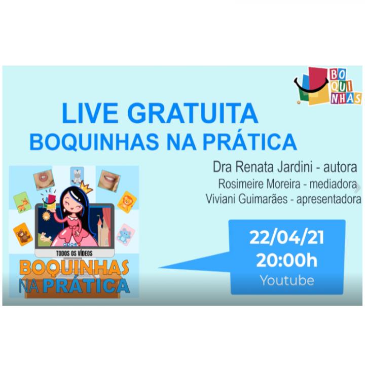 Live dia 22/04 com a Dra Renata Jardini