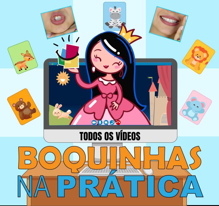 Curso Boquinhas na Prática  completo – 7 módulos já disponível na Loja Boquinhas